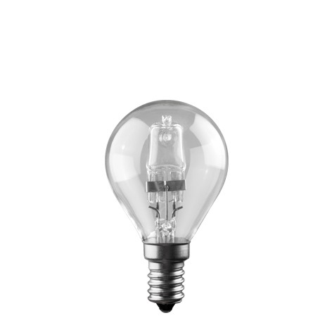 Image of   E14 Eco Halogen, P45 20 watt, 230v