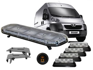 LED Flash-Kit, Peugeot Boxer/Citroen Jumper/Fiat Ducato