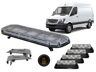 LED Flash-Kit, Mercedes Sprinter