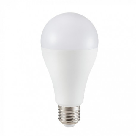 Image of   17 Watt LED pære - Samsung Chip - A65 - E27 - 1521 lumen Neutral hvid
