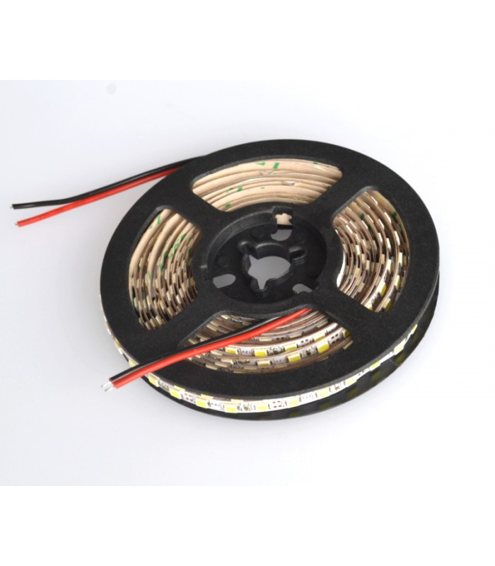 5 meter LED strip IP21, 120 LED, 7,2w pr. meter! Neutral hvid